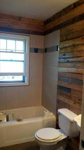 diy pallet bathroom wall paneling 101 pallet ideas