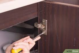 best spray paint for cabinet hinges how to paint cabinet hinges 7 steps with pictures wikihow
