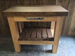 kitchen island oak solid oak butchers block kitchen island oak top