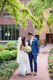 Midwest Chandelier Company Chicago Wedding With Greenery Covered Chandeliers