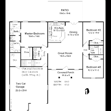 ranch style house plan 3 beds 2 50 baths 1400 sq ft 21 113 fancy