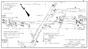 Chicago Map Traffic by Chicago Il Railroad Train Interlocking Diagrams