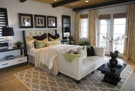 Bedroom Nightstand Ideas Bedroom Excellent Master Bedroom Design With Brown Wall Paint