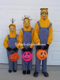 Minion Halloween Costume Girls 15 Diy Couples Family Halloween Costumes Onecreativemommy