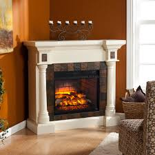 Electric Fireplaces Amazon by Carrington Wall Or Corner Infrared Electric Fireplace In Antique
