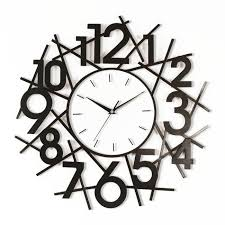 Modern Clocks For Kitchen by Contemporary Kitchen Wall Clocks Attractive Backyard Interior