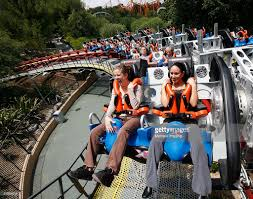 Six Flags Magic Mountain by Six Flags Magic Mountain Stock Photos And Pictures Getty Images