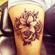 best 25 thigh tattoos for girls ideas on pinterest tattoos