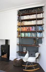 Room And Board Bookcase Bookshelf Decorating Ideas Living Room Contemporary With Reclaimed