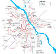 Prague Subway Map by Warsaw Subway Map For Download Metro In Warsaw High Resolution