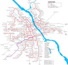Prague Subway Map by Warsaw Subway Map For Download Metro In Warsaw High Resolution