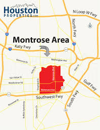Metro Rail Houston Map by Montrose Houston Map Montrose Neighborhood Maps