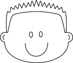 elegant happy face coloring page regarding the house cool