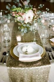 Sequin Table Runner Wholesale White Sequin 120