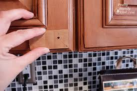 How To Install Kitchen Cabinet Installing Cabinet Knobs Pretty Handy