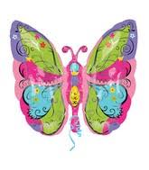 butterfly balloons bargain balloons butterfly mylar balloons and foil balloons