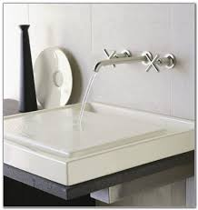 Wall Mounted Bathroom Sink Faucets Kohler Reve Wall Mount Sink Dance Drumming Com