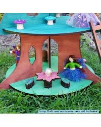 Dollhouse Furniture And Accessories Elves by Wooden Fairy House Tree Elves U0026 Angels Heirloom Quality Wooden Toys