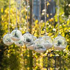 glass ornament with tree snow tree pendant