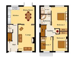 3 Bedroom 2 Bathroom Townhouse by Fanciful 3 Bedroom Townhouse Designs 2 Plans Shoise Com