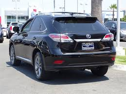 lexus rx 450h high mileage used rx 450h for sale acura of fremont