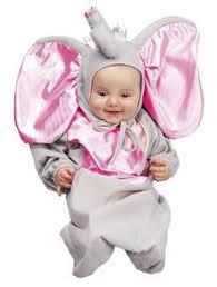 Baby Bunting Halloween Costumes Heart Elephants Babies Babies Dressed Elephants