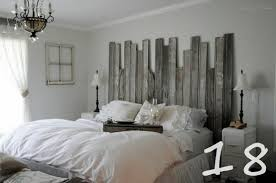 Beachy Headboard Ideas Recycled Fence Headboard 18 But Barn Wood Planks Would Work
