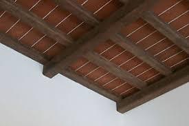 pannelli per isolamento termico soffitto pannelli soffitto effetto legno cotto 120x84 cm isolante termico