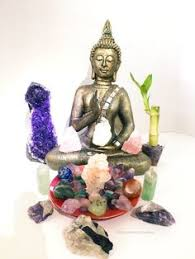 new buddha crystal altar for a beautiful peaceful home decor