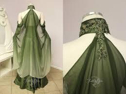 elvish style wedding dresses elvish wedding dress back sci fi randomness