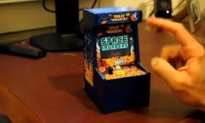 how to make an arcade cabinet homemade space invaders mini arcade cabinet gadgetsin
