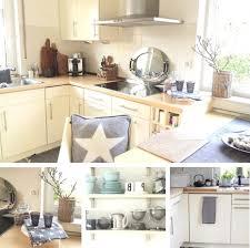 moderne landhauskchen blau wohndesign kühles moderne dekoration blaue küche deko moderne