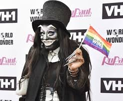 Drag Queen Meme - this drag queen dressed up as new lgbt idol the babadook and we re