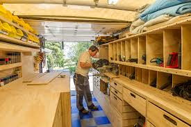 wood shop woodshop on wheels paulk on the design of his mobile woodshop