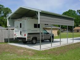 Rv With Car Garage Rv Carports Rv Covers Rv Shelters