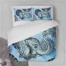 bohemian boho bedding elephant bedding bohemian duvet cover set