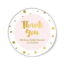 bridal shower favor tags bridal shower favor stickers zazzle