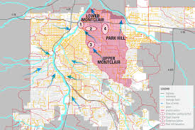 I 70 Colorado Map by City Park Golf Course Redesign