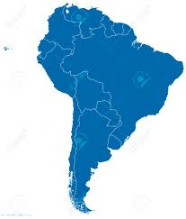 South America Political Map by Political Map Of South America With All Countries And National
