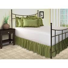 Harmony Platform Bedroom Set Amazon Com Harmony Lane Ruffled Bed Skirt With Split Corners