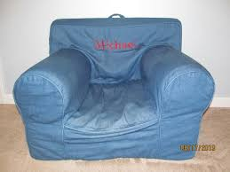 Anywhere Chair Pottery Barn Denim Anywhere Chair Baby U0026 Kids For Sale On Fort