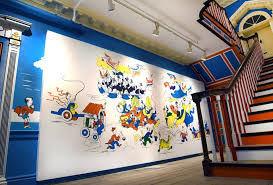 dr seuss museum will take down mural after authors threaten to three authors said this mural features a jarring racial stereotype of a chinese man