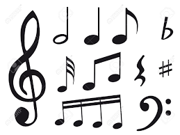 pictures of music notes and symbols group 82