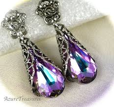purple earrings 245 best majesty s jewels images on amethysts