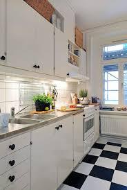 cuisine carrelage blanc beau carrelage damier noir et blanc cuisine et cuisine blanche et