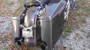 advan black charcoal pearl 4 5 u0027 stretched saddlebags buttoms for
