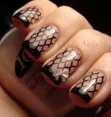 best 25 fishnet nails ideas on pinterest diy nail designs diy