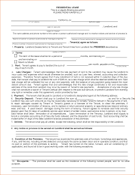 Rental House Lease Agreement Template 7 Residential Lease Agreement Template Printable Receipt