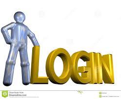 Login Combination Lock With Login Stock Illustration Image 44530493