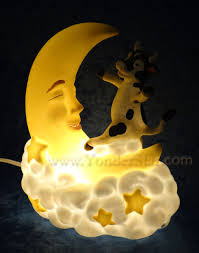 Jumping Light Cow Jumping Over The Moon Night Light Yonder Star Christmas Shop Llc